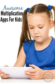 Are your kids having trouble with math? Here's a multiplication #app to help them with their schoolwork! #kids
