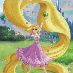 I am free Rapunzel And Flynn, Tangled Rapunzel, Disney Tangled, Film Disney, Disney Fan Art, Disney Pixar, Disney Dream, Cute Disney, Disney Girls