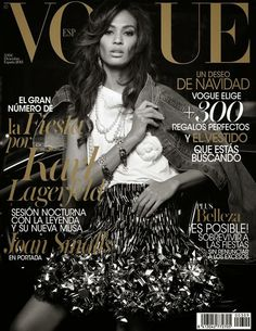 Joan Smalls for Vogue Spain December 2013 Cover