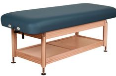 stationary massage table Oakworks