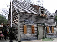 Oldest Wooden School House St Augustine Florida
