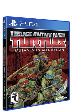 Amazon.com: Teenage Mutant Ninja Turtles Mutants in Manhattan - PlayStation 4: Video Games