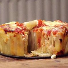 Incroyable recette de tarte aux pâtes Rigatoni facile et rapide                                                                                                                                                                                 Plus