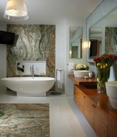 Freestanding Bathtub Ideas-32-1 Kindesign