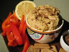 Half the Fat, Double the Serving Hummus (3 Points Plus for 1/4 Cup)