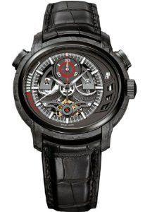 Audemars Piguet Millenary CARBON ONE Tourbillon Chronograph in Completely Forged Carbon 26152AU.OO.D002 CR.01