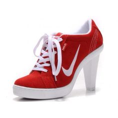High heeled tennis shoes...this is me'