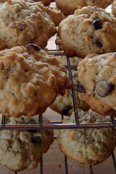 Sourdough Oatmeal Cookies by LisaNH, via Flickr