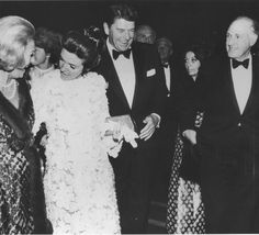 Ronald And Nancy Reagan At Movie Premiere at Grauman's Chinese Theater