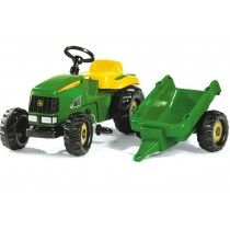 Check Peg Perego John Deere Ground Force Tractor with Trailer at 10 best Ride on for 4 year old boys from popular and cool toys for kids Childrens Garden Toys, Kids Garden Toys, Kids Toys, Kids Ride On, Kids Bike, John Deere Shop, John Deere Kids, Bike With Training Wheels, Tractors For Kids