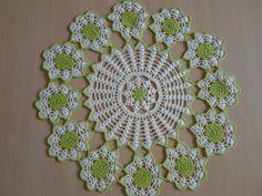 Handmade doilies (16 inch) (40cm) by Ela Mazek