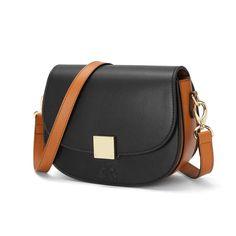 C'iel Glen negru geanta de piele cu doua curele interschimbabile - Ciel Bags Saddle Bags, Color, Fashion, Colour, Moda, Fashion Styles, Fashion Illustrations, Colors, Fashion Models