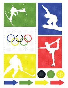Winter Olympics Free Printable