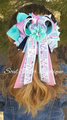Tails down hair bow only at www.facebook.com/soulsisterboutique