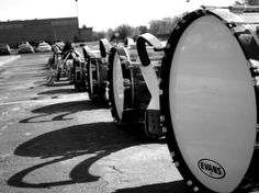 People say that caring a bass drum and playing a bass drum is hard...it really isn't once u try