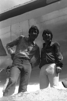 Pete Townshend and Keith Moon, The Who