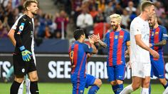 Leo Messi asiste a Munir y Suarez para la victoria 4-2 ante Leicester | A Son De Salsa