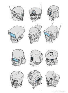 ArtStation – Sketch for fun, Dipo Muh. ArtStation – Sketch for fun, Dipo Muh. Arte Robot, Robot Art, Robot Concept Art, Armor Concept, Character Concept, Character Art, Robot Sketch, Robots Drawing, Robots Characters