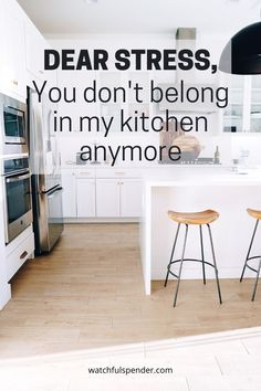 Does your kitchen bring you stress? Between meal planning, the daily chores, and the constant clutter that invades our kitchens? Well, it's time for that to stop so you don't have that added stress anymore! Life Organization, Organizing Ideas, Ways To Reduce Stress, Stress Free, Declutter, Meal Planning, Kitchens, Bring It On, Things To Come
