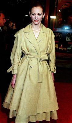 Tilda Swinton 2000. I love her.