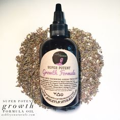 The Remedy! Thinning edges, bald spots, postpartum shedding… We got you!  Our SPGF oil is packed with growth promoting botanicals + stronger than  ever! Great for thinning edges, thin hair, dry itchy scalp + more! You  should see results within 60 days of consistent use!  Use for thinning edge