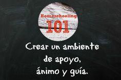 Homeschooling: Crear