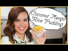 Ingrid Dishes | Coconut Mango Rice Pudding | Recipes from Missglamorazzi - YouTube