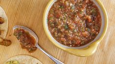 Boxing champion Laila Ali roasts tomatoes to give deep flavor to this salsa from her new cookbook, 'Food For Life'