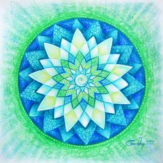 blue-green-mandala.jpg (664×664)