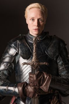 virgin-who-cannot-drive:  Brienne of Tarth by Helen Sloan