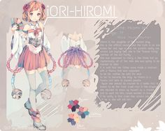 Hiromi Reference by KyouKaraa on deviantART