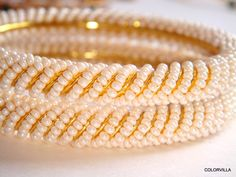 Super Sale Ethnic Pearl Bangles Indian Bangles Gold Plated Bangles by colorvilla on Etsy