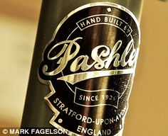 "The Pashley logo ""A Master among bikes"" MAKETRAX.net - Bicycle HEADBADGES"