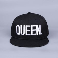 536a0fb6f84 Shop Queen and King Snapback hat cap at 9th Wave. Adjustable Snapback  closure. Lovers · Mens Sun ...