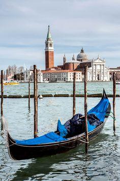 Gondola near Saint Mark square, Venice, Italy   10 Amazing Photos of Venice, the City Blessed with Eternal Love