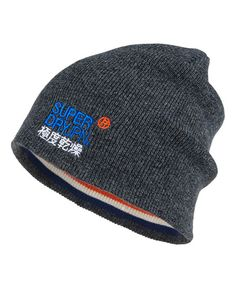 Superdry Windhiker Embroidery Beanie Trending Today, Winter Accessories, Headgear, Superdry, Beanie, Embroidery, Hoodies, Clothes For Women, Shorts