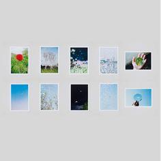 水谷吉法による展覧会「YUSURIKA」のオリジナルポストカードから厳選された10枚セット。