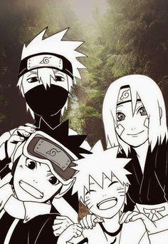 Team Minato and Naruto #Naruto