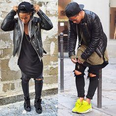 Jaii'C dope black outfit.