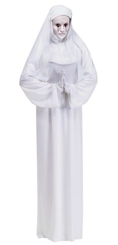 Scary Mary Nun Adult Costume - Scary Costumes