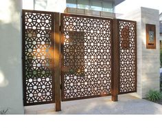 steel panels with tubular steel frame and posts