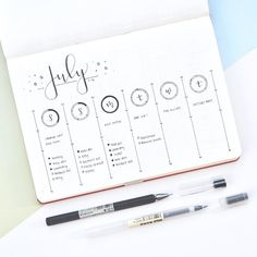 """E M I L Y & K A T Y en Instagram: """"This week's spread! I used the daily circles from last week the same way since I loved them so much. So every time I finished a task, I…"""""""