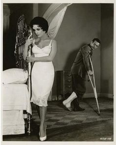 Cat on a hot tin roof,1958.