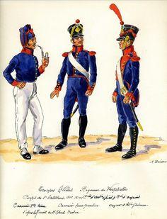 Westphalia; Foot Artillery 1808-10 by H. Boisselier
