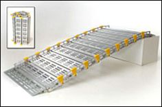 Roll-A-Ramp Portable Wheelchair Ramp