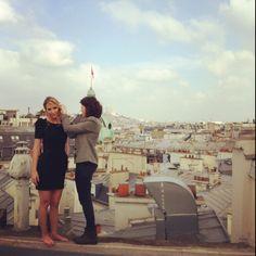 Sur les toits - Paris