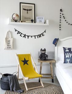 nordic kids room with natural colors. Nordic style for children. Simple living spaces for kids. farmhouse style for kids room. Small Boys Bedrooms, Kids Bedroom, Kids Rooms, Bedroom Ideas, Master Bedroom, Bedroom Inspiration, Nursery Room, Boy Room, Deco Kids