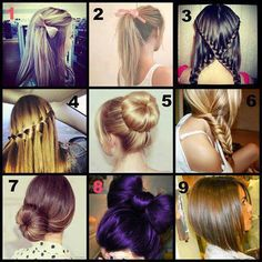 beautiful haircuts, colours and do's Beautiful Haircuts, Pretty Hairstyles, Braided Hairstyles, Hairdos, Hairstyle Ideas, New Hair, Your Hair, Hair Braider, Different Hairstyles