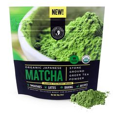 Jade Leaf Matcha Green Tea Powder USDA Organic Authentic Japanese Origin Classic Culinary Grade (Smoothies Lattes Baking Recipes) Antioxidants Energy Value Size] Organic Matcha Green Tea, Matcha Green Tea Powder, Green Powder, Green Teas, Matcha Tea Benefits, Best Matcha Tea, Matcha Smoothie, Matcha Bowl, Japanese Matcha