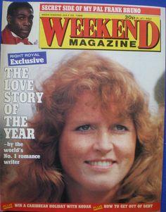 Weekend Magazine - Sarah Ferguson 22nd July 1986